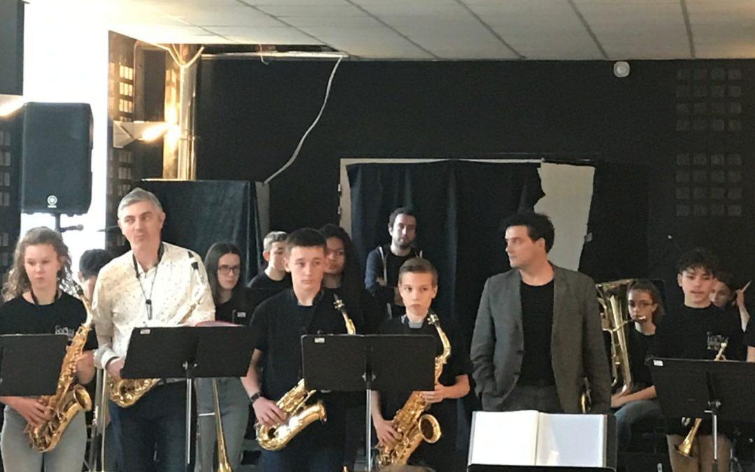Rentrée des musiciens à l'EEA à Craon
