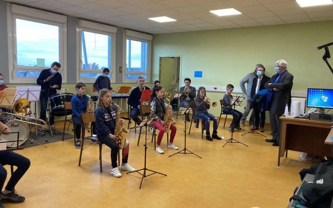 Classe orchestre – 6ème