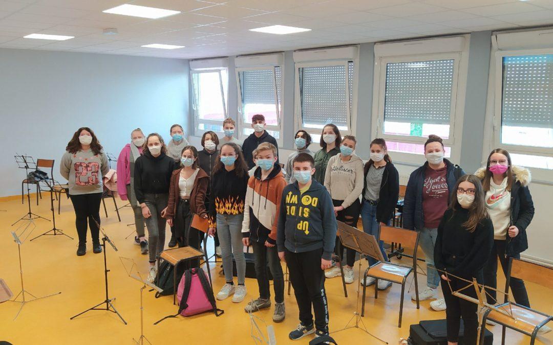 Des concerts virtuels et des rencontres d'artistes pour les OAE du collège Alfred Jarry